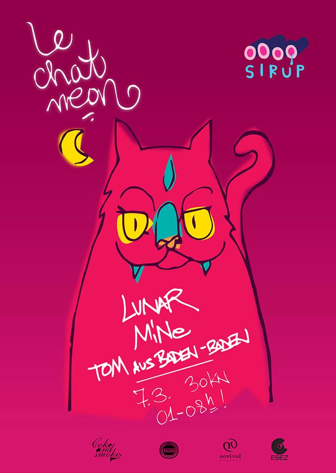 Le Chat Neon @ Sirup, Zagreb