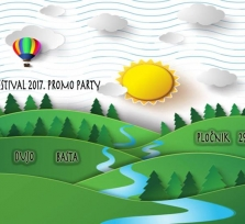 River festival 2017 promo party u Pločniku