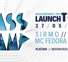 Bass Camp Orfű launch party Zagreb