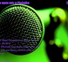 Stand-up open mic u Pločniku