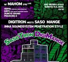 Irie Garden 3rd Birthday w/ MAHOM (Fr) / Digitron & Saso Mange Soundsystem Penetration