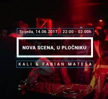 Nova scena, u Pločniku w. Kali & Fabian Mateša