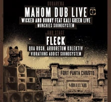 SUB presents: Rumble in the fort w/ MAHOM live, Wicked and BONNY ft. KALI GREEN live, FLECK and more