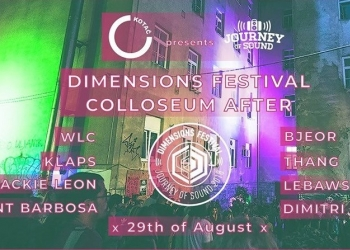 Klub Kotač & Journey Of Sound: 'Dimensions Colosseum After'