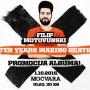 Filip Motovunski Ten Years Making Beats - zagrebačka promocija albuma prvijenca