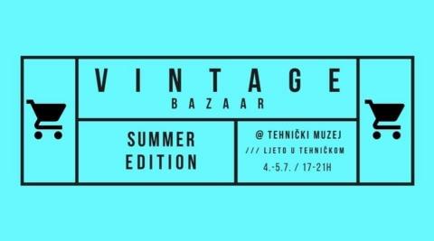Vintage Bazaar Summer Edition