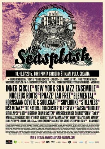 Objavljen raspored izvođača na glavnoj pozornici Seasplasha!