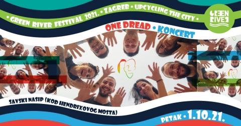 One Dread uživo na Green River Festu