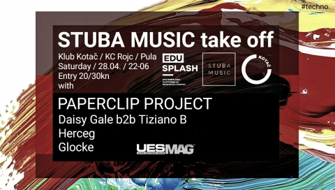 """""""STUBA MUSIC take off"""" w/ Paperclip Project"""