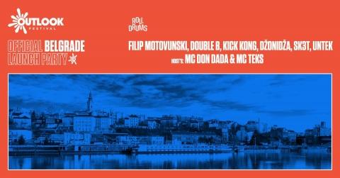 Outlook Festival Belgrade Launch Party w. Filip Motovunski