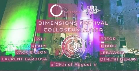 Klub Kotač & Journey Of Sound: 'Dimensions Colosseum After'