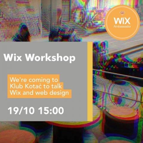 Wix - radionica web dizajna