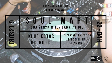 Soul Mart: prezentacija DJ radionice