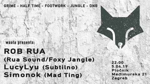 Waata presents: Rob Rua (Rua Sound/Foxy Jangle) Ireland