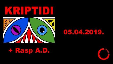 Kriptidi + Rasp A.D. - live u Kotaču