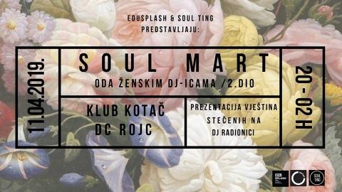 Soul Mart #2: prezentacija DJ radionice
