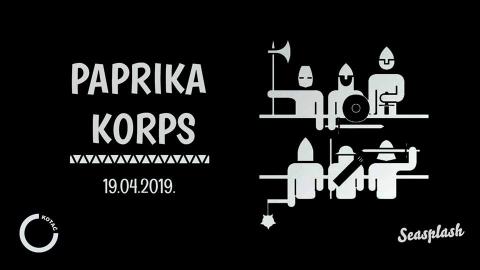 Paprika Korps - live u Kotaču