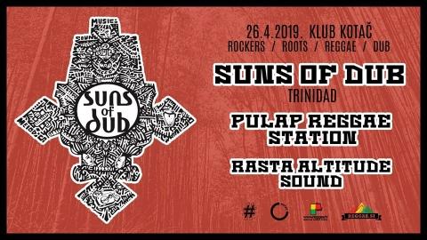Suns of Dub - live u Kotaču