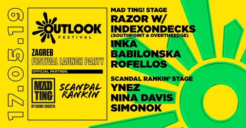 Outlook Festival 2019 Official Zagreb Launch Party