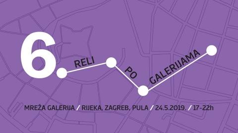 6. Reli po galerijama | Zagreb, Rijeka, Pula