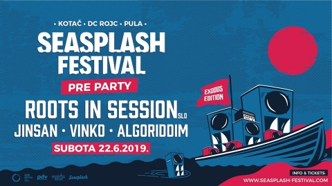 Seasplash Festival pre party u Kotaču