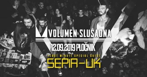 Volumen Slušaona + Sepia (UK)
