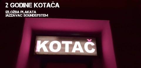 2 godine Kotača: izložba plakata + Jazzavac sound system