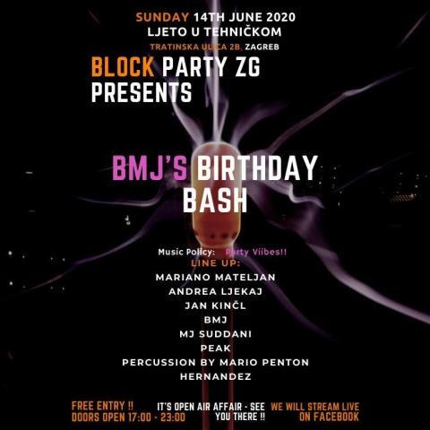 Block Party ZG Presents BMJ's Birthday Bash