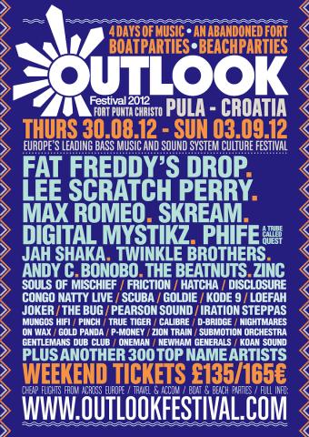 Hrvatski i regionalni izvođači na Outlook festivalu 2012