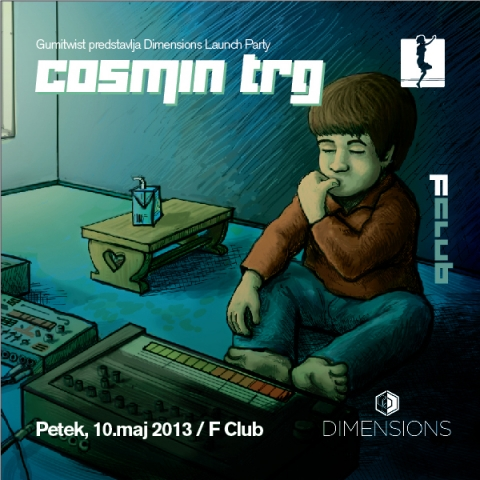 Dimensions Launch Party w. Cosmin TRG @ F Club, Ljubljana