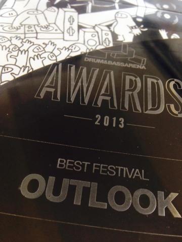 Outlook festival osvojio nagradu za najbolji festival 2013. na DnB Arena Awards