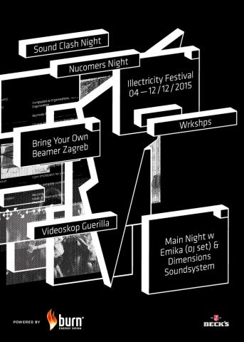 Illectricity Festival - spoj glazbe i vizualnih umjetnosti od 4. do 12. prosinca u Zagrebu