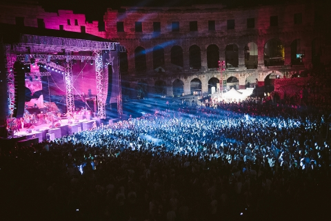 Damian Jr. Gong Marley u Areni sinoć otvorio rasprodani 9. Outlook festival