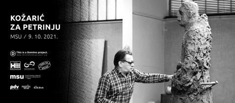 Kožarić za Petrinju – dobrotvorno događanje u Muzeju suvremene umjetnosti (MSU)
