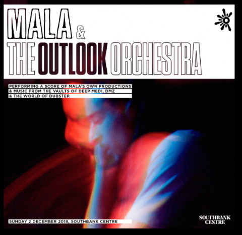 Mala i The Outlook Orchestra ove zime u Londonu
