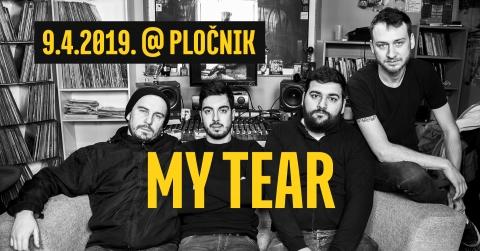 My Tear // live in Pločnik - indie new wave Balkan Veliki