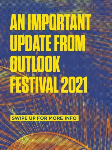 Važna obavijest: Outlook festival prebacuje termin održavanja na kraj ljeta, od 9. do 13. rujna