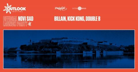 Outlook Festival Novi Sad Launch Party w. Billain