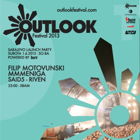 Outlook festival launch party @ So.Ba, Sarajevo, BiH