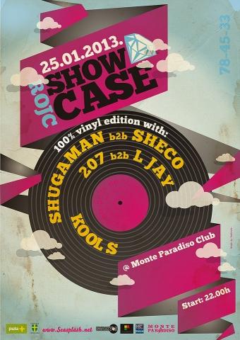 Rojc Showcase # 3 100% Vinyl Edition, Monte Paradiso Klub, Pula
