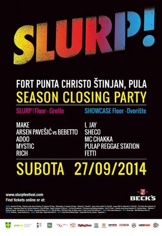 Slurp! vol. 4 - Season Closing Party!