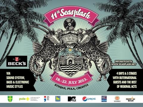 Satnica izvođača na 11. Seasplash festivalu