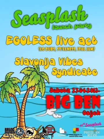 Seasplash Launch party @ Big Ben, Osijek