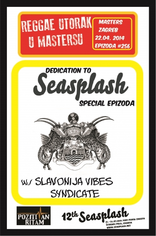 Reggae utorak Seasplash special @ Masters, Zagreb