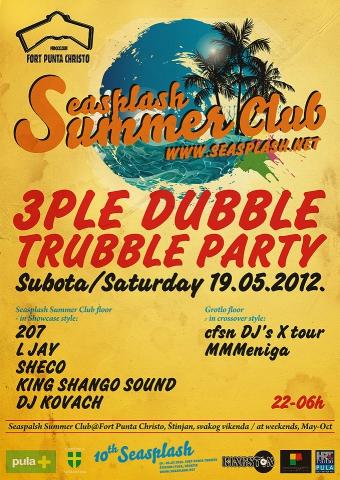 Party otvorenja sezone @ Seasplash Summer Club, Fort Punta Christo, Štinjan, Pula
