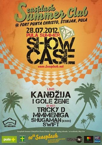 Summer Showcase: Kandžija & Gole žene, Tricky D, Mmmeniga... @ Seasplash Summer Club, Pula