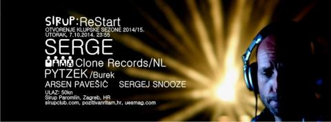 Serge, alfa i omega nizozemskog Clone recordsa na otvorenju nove sezone u Sirupu