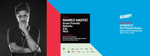 Slurp! vol. 4 - Season closing party w/ Marko Nastić
