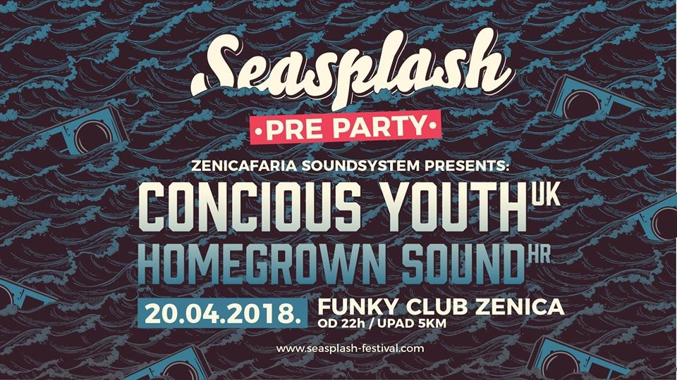Seasplash pre party inna 420 style