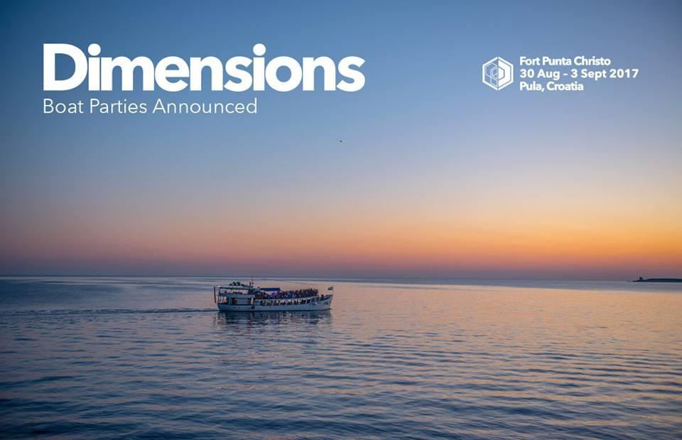 Više od 20 party brodova u morskoj avanturi Dimensions festivala 3